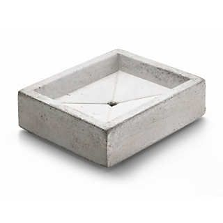 Seifenschale Beton | Badezimmerausstattung