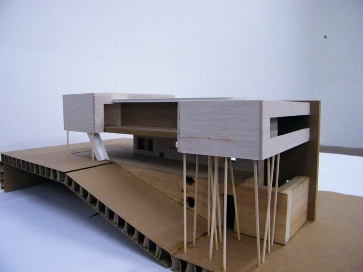 Afbeeldingsresultaat voor villa dall'ava maquette