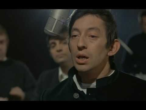 "Edited sequence from the French movie ""La Pacha"" (1968). Serge Gainsbourg singing ""Requiem pour un con"" (""Requiem for a Jerk"")"