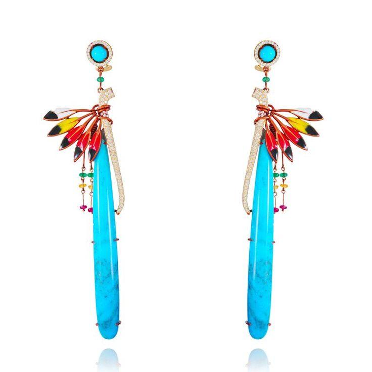 Lydia Courteille Jewellery Rainbow Warrior Collection: ' * Lydia Courteille Erica Courtney