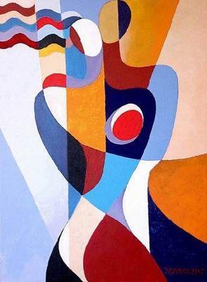 peinture moderne cubiste