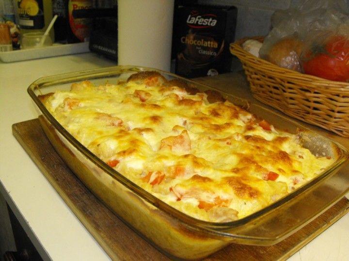 Csirkemelles tészta | Receptneked.hu (olcso-receptek.hu)