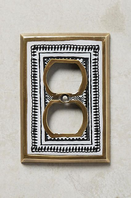 Rosalita Switch Plate - anthropologie.com