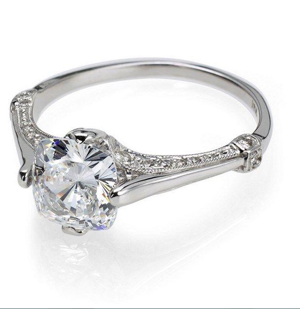 Engagement Rings Vs Wedding Bands: Elegant Engagement Ring Vs Wedding Ring
