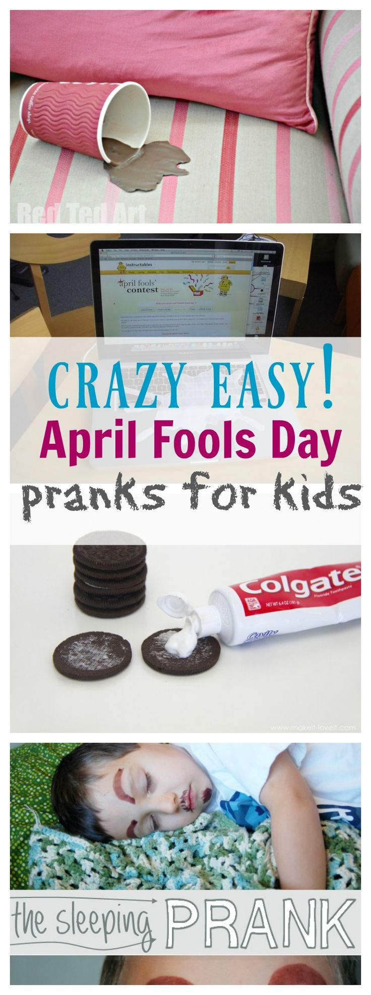 April Fools Day is just around the corner and these April Fools Day Pranks for Kids are going to have your house in stitches laughing! They're all very family friendly jokes that aren't mean or scary! Perfect for young kids or adults like me that scare easily! April Fools Day Pranks for Kids Click on …