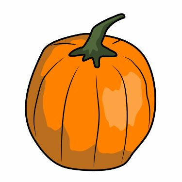 Whether it's Halloween or not, you must learn how to draw a cartoon pumpkin.