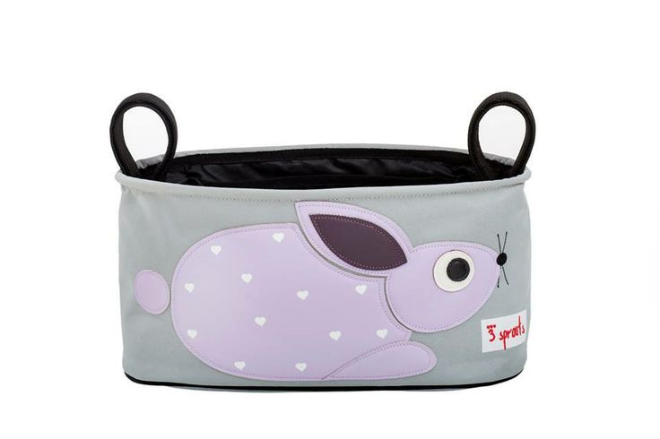 Machiko - a boutique for kids - Rabbit Pram Caddy By 3 Sprouts, $31.95 (http://www.machikobaby.com.au/products/rabbit-pram-caddy-by-3-sprouts.html)