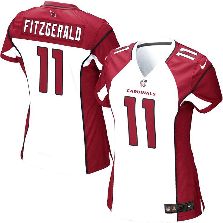 Larry Fitzgerald Arizona Cardinals Nike Women's Game Jersey – White - $94.99