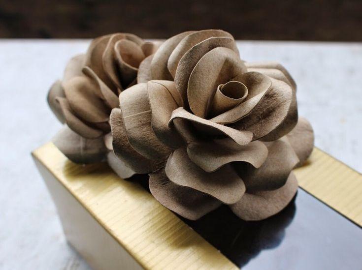 """Loving this sweet little tip: """"DIY Handmade Roses From TP Tubes. """""""