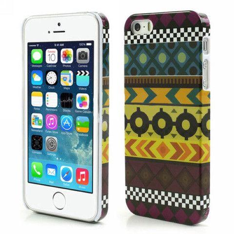 Aztec Art Design Hard Back Case Cover for Apple iPhone 5 5s insignia – Bracevor
