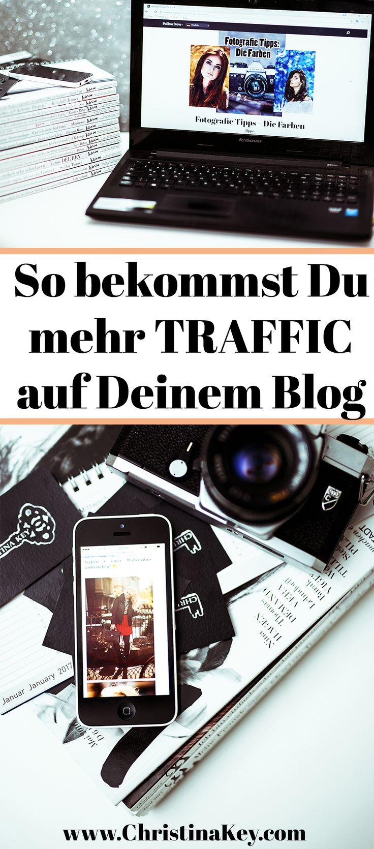 Blogger Tipps: So bekommst Du mehr Traffic auf Deinem Blog! // Jetzt weitere Blogger Tipps lesen auf CHRISTINA KEY - dem Blogger- und Fotografie Tipps Beitrag aus Berlin
