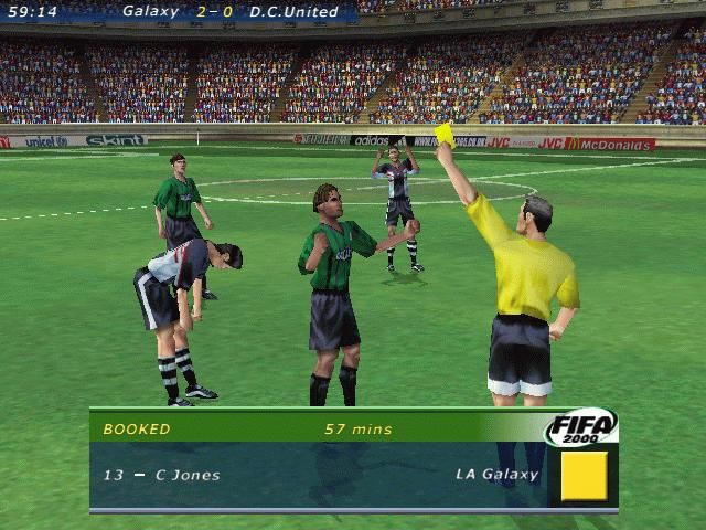 FIFA Soccer 2000 Game Images