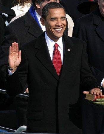Barack Obama was sworn in January 20, 2009 as the 44th President.