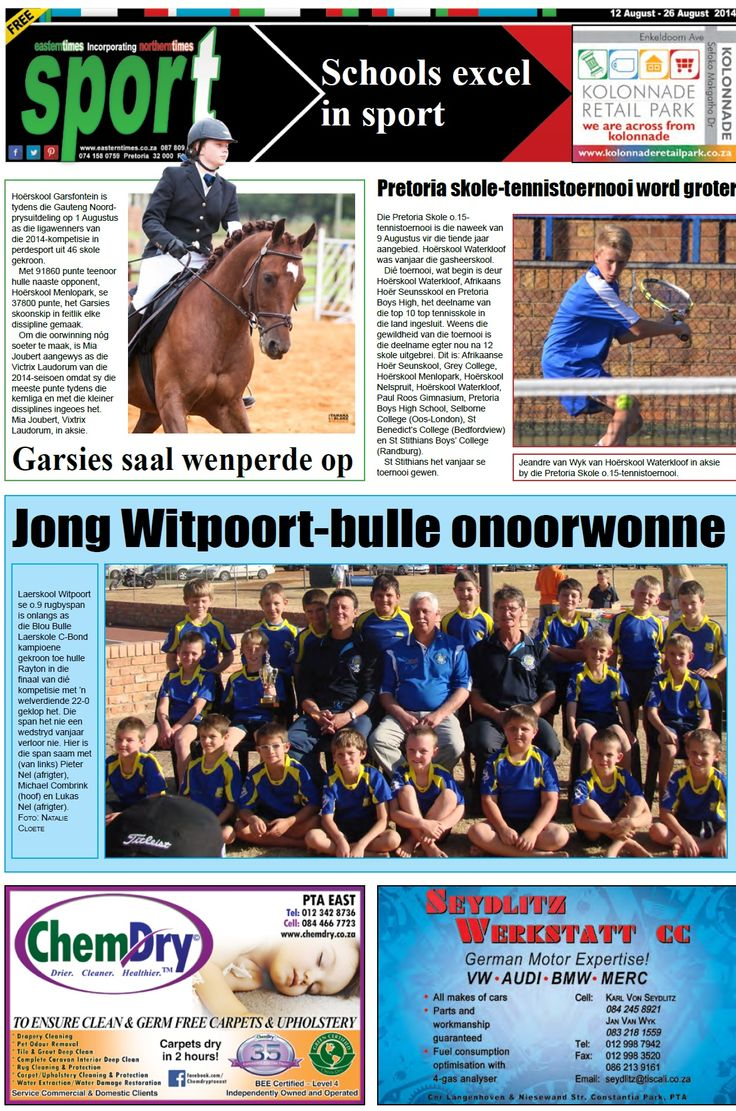 Sport page 12 - 26 Aug