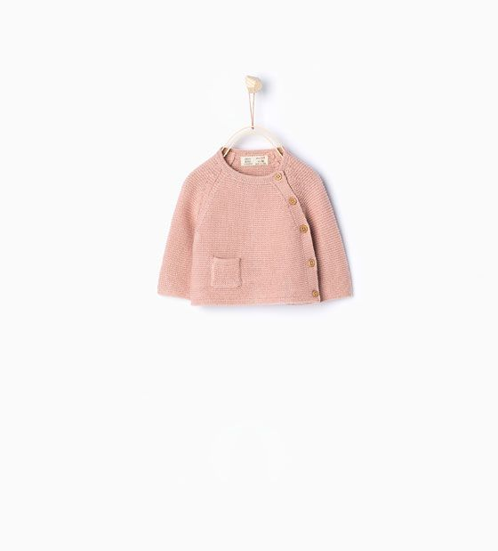 Image 1 of Basic knit sweater from Zara