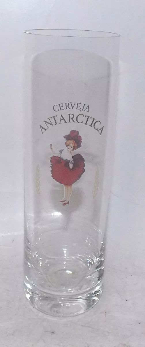Copo De Coleção Super Fino Cerveja Antarctica - R$ 69,90 em Mercado Livre
