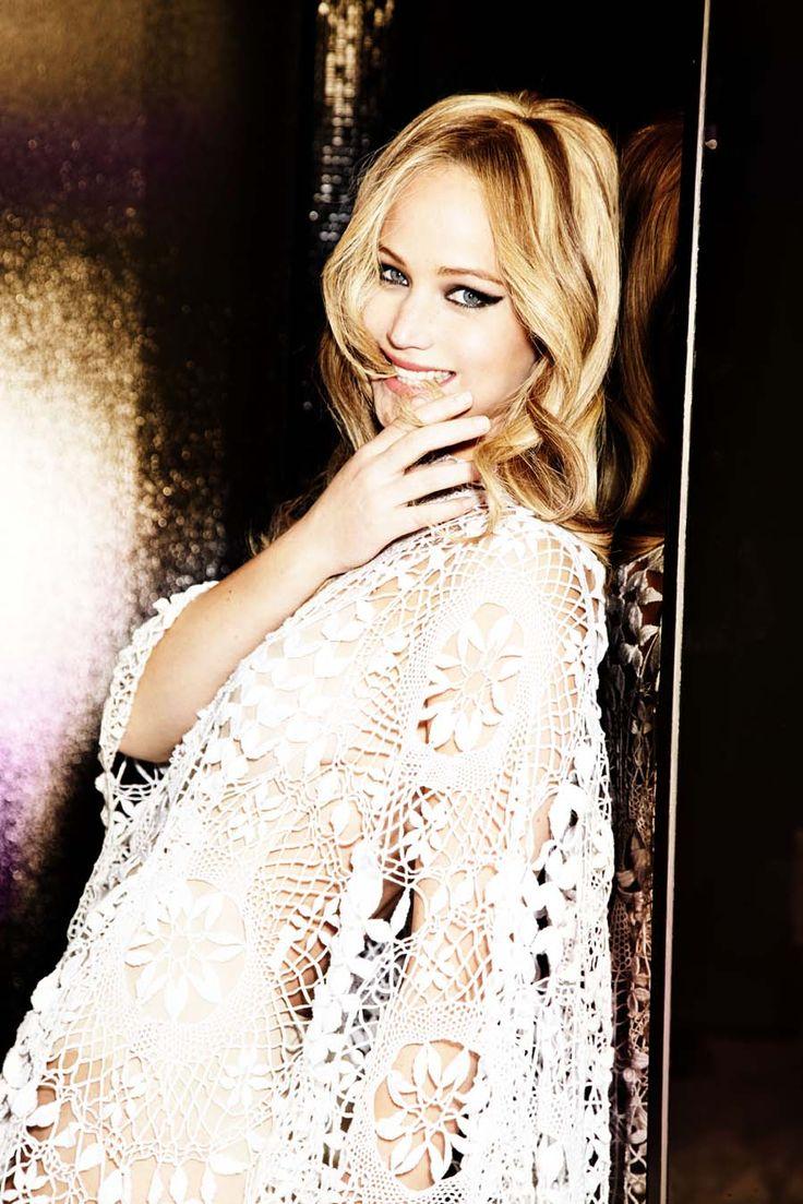 Jennifer Lawrence. Vanity Fair UK February 2013. Photo: © Ellen Von Unwerth.