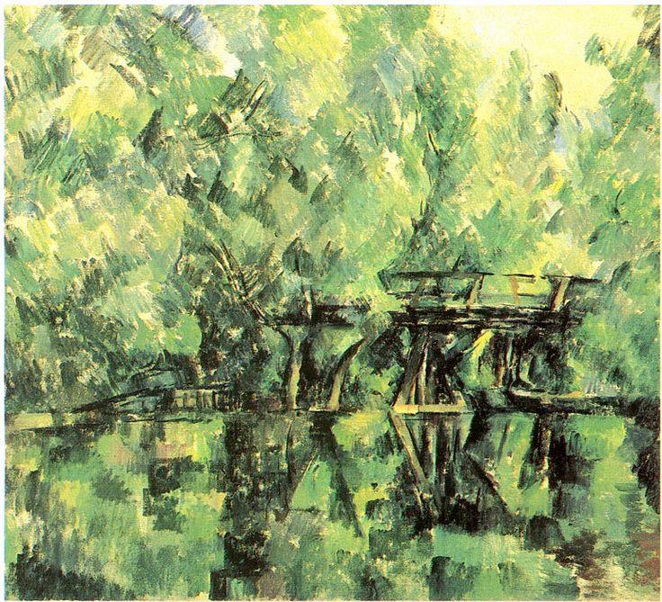 Поль Сезанн: 040 Мост над болотом