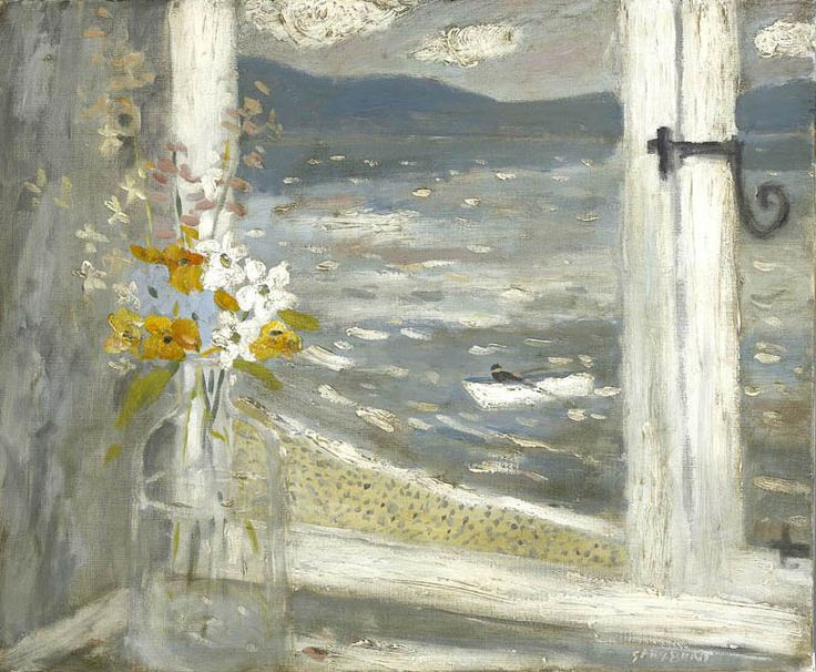"""Gary Bunt - """"The Visitor"""" .....  I look out from my window  Far across the sea  Waiting for the visitor  Waiting patiently..."""