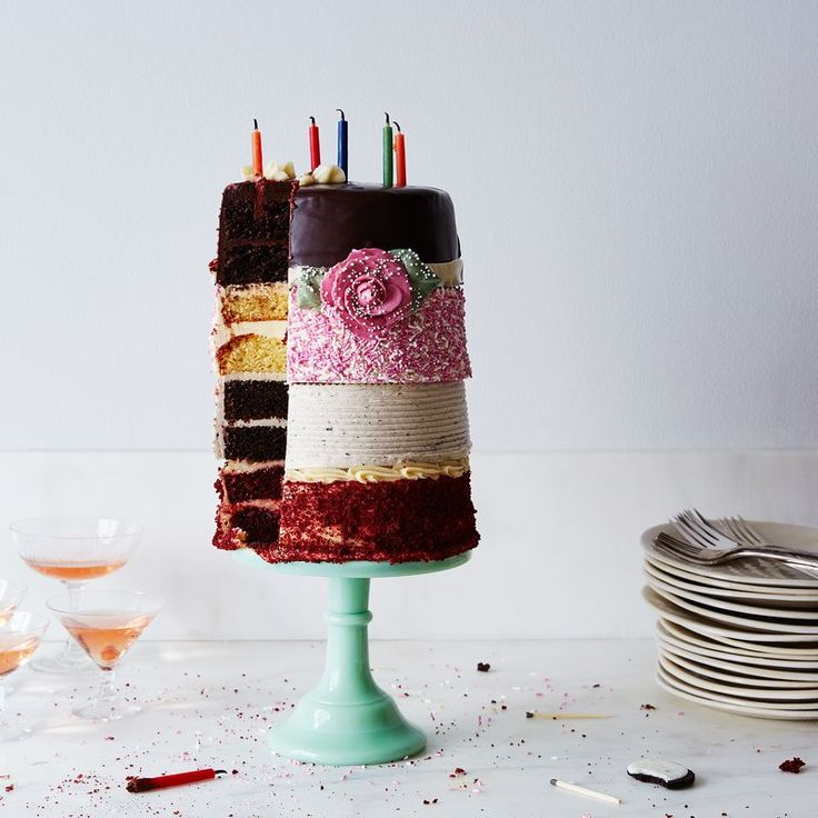 IDEA: Leap Year Birthday Cake: 4 cakes, 1 day, every 4 years (no recipe) | I'll be prepared...for four years from now!