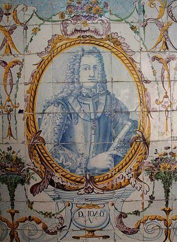 A 22 de Outubro de 1689, nasce D. João V (1689-1750), que viria a ser o 24º Rei…