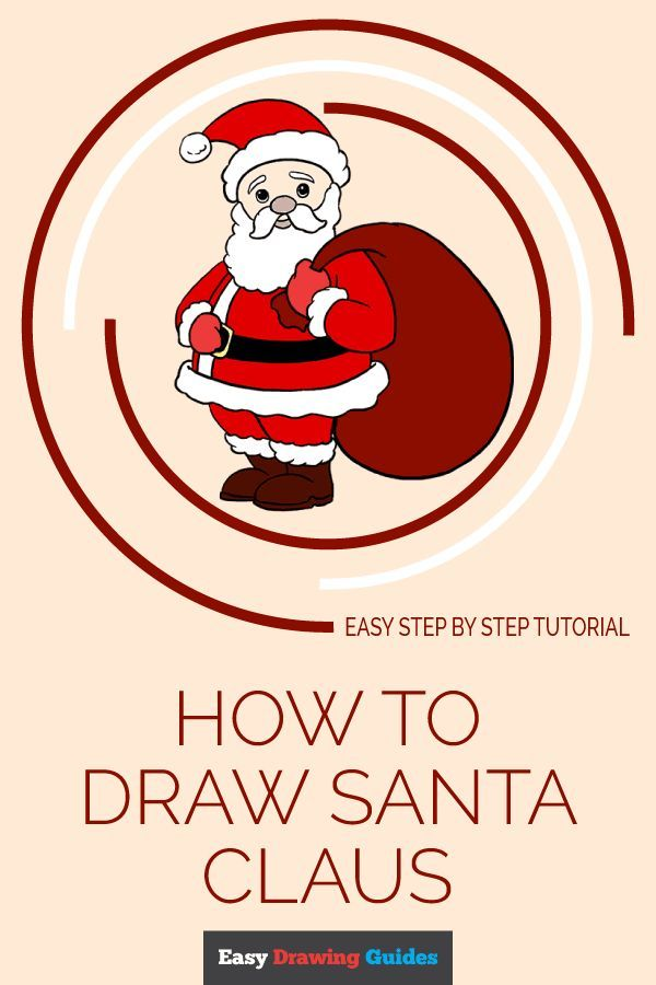 How To Draw Santa Claus In A Few Easy Steps Crave Holiday