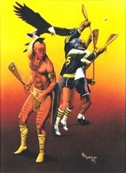 16 best images about native american lacrosse on pinterest