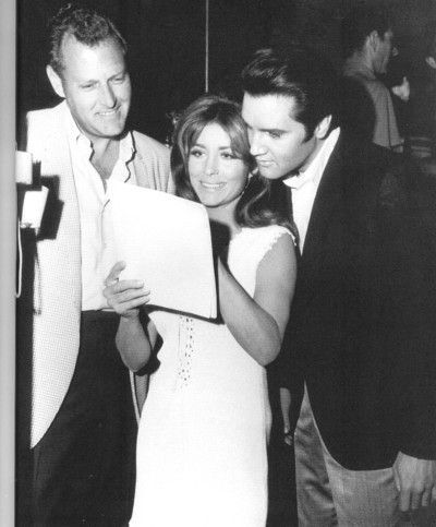 """Michael Hoey (Director) and co-star, Michele Carey, """"Live a Litttle Love a Little"""", 1968"""
