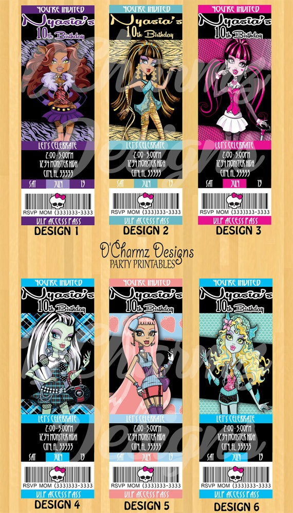 228 best Monster High images on Pinterest | Monster high party ...