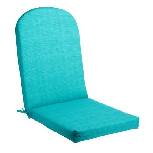One of my favorite discoveries at ChristmasTreeShops.com: Solid Turquoise Indoor/Outdoor Adirondack Chair Cushion