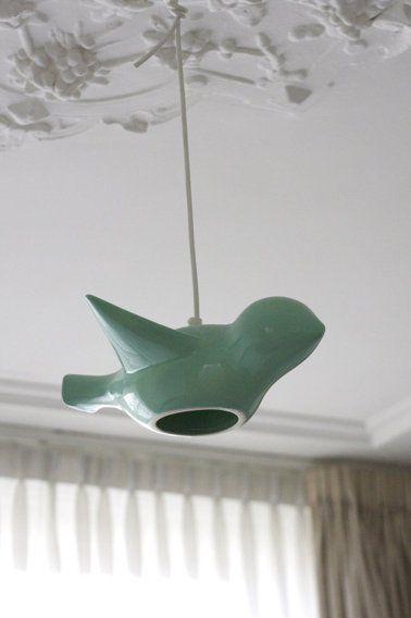 Cool bird light fixture.