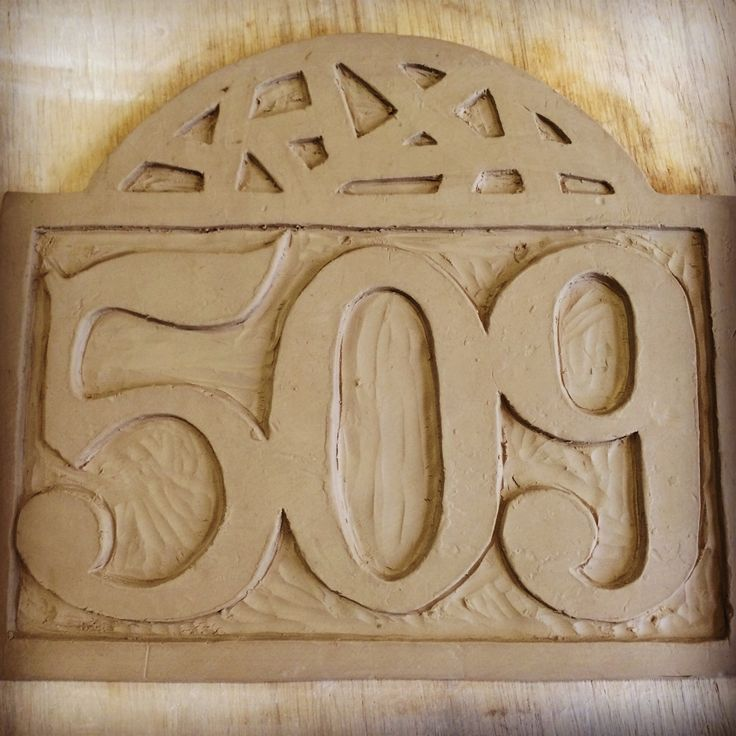 The 25 best ceramic house numbers ideas on pinterest for Ceramic tile numbers and letters