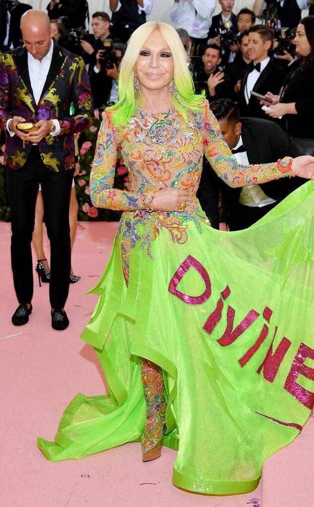 Donatella Versace Met Gala 2019 Google Search Fashion
