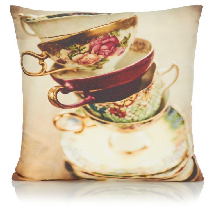 Teacup Cushion