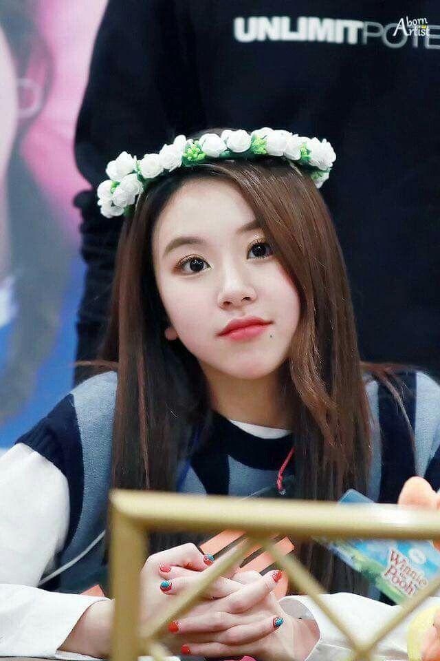 Senhor que garota linda ❤ Chaeyung