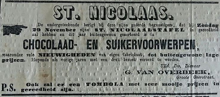 Advertentie uit de Deventer Courant 1868