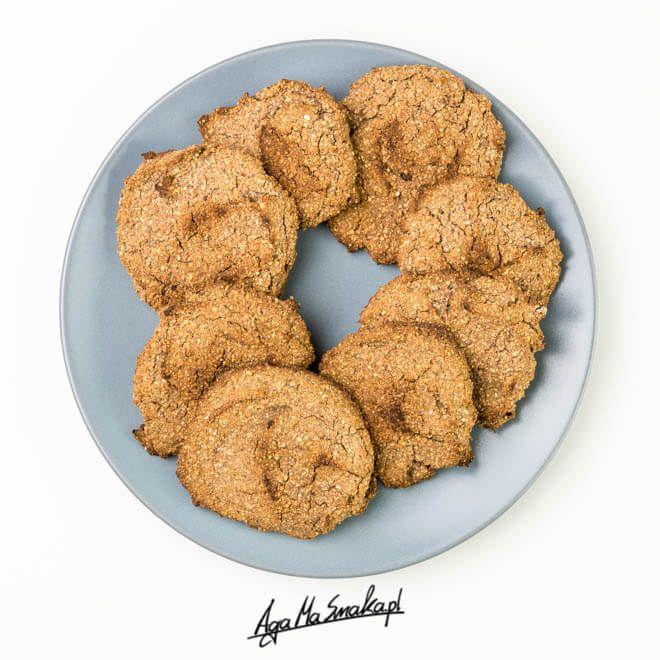 chrupiące kakaowe ciasteczka z fasolą