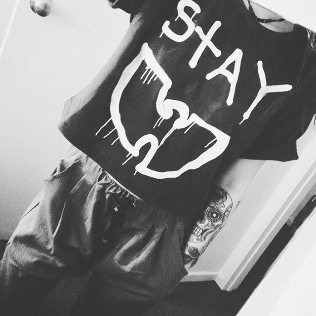 stay rad crop and relax pants : a lot of ideal  +. #regram #federationclothing #stayrad