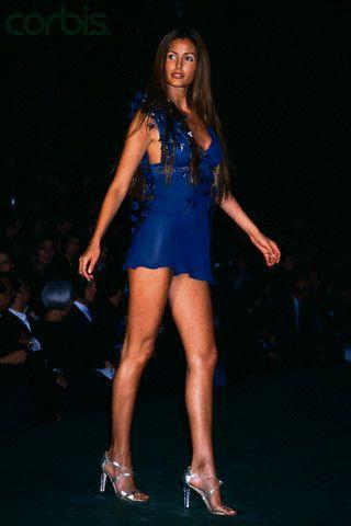 Elsa Benitez Walking on Victoria's Secret Fashion Show 1999
