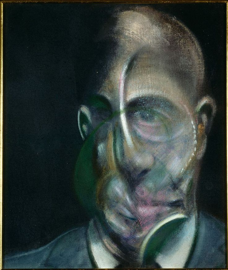Michel Leiris (ici peint par Bacon), une vie multiple et exceptionnelle durant le siècle écoulé : ethnographie, littérature et beaucoup d'amitiés artistiques :  Picasso, Masson, Miró, Giacometti, Lam, Bacon…  A voir au Centre Pompidou Metz