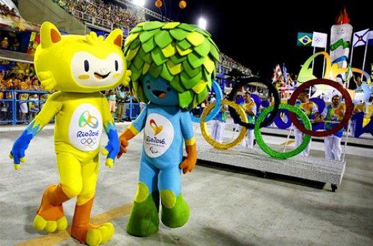 Церемония открытия летней Олимпиады-2016 в Рио-де-Жанейро (ФОТО)