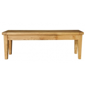 Vancouver Oak VA024 Oak Bench  www.easyfurn.co.uk
