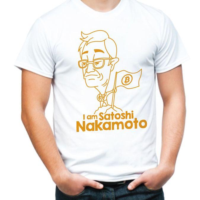 I am Satoshi Nakamoto (Bitcoin T-Shirt contest) by NAD638