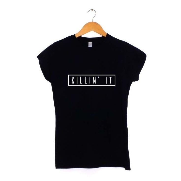GIVEAWAY: Killing It T-shirt