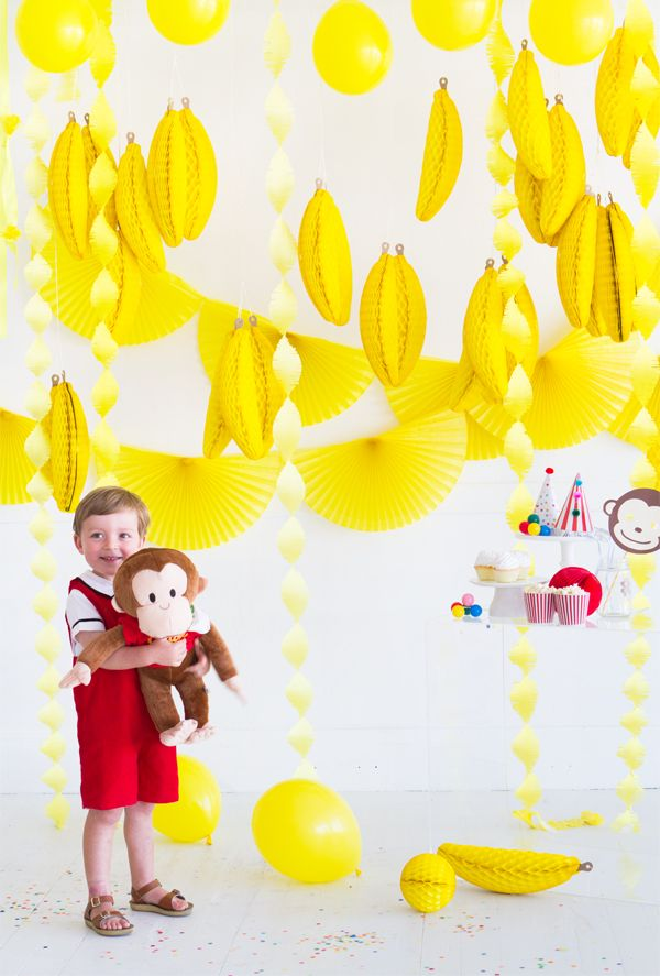 Modern Curious George Party | Oh Happy Day!