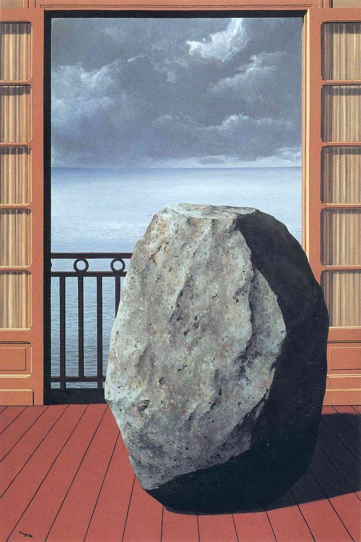 Рене Магритт -  Invisible world  (1954) - Открыть в полный размер