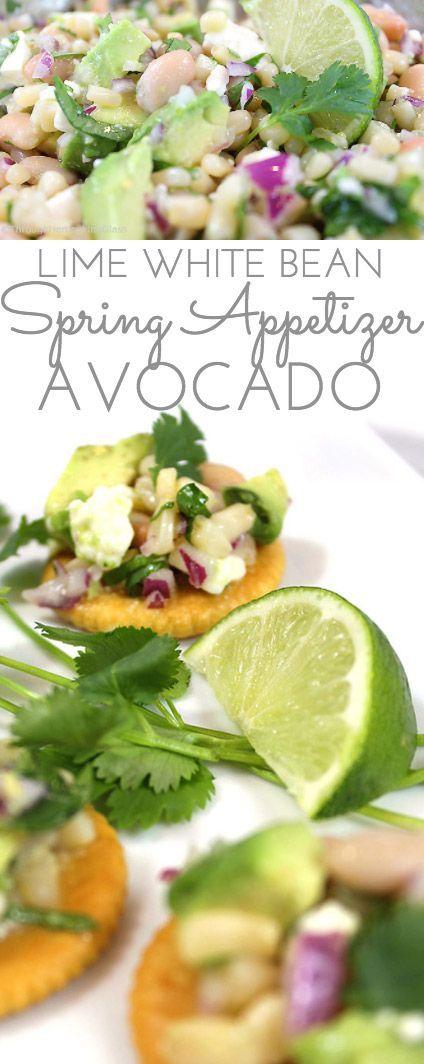 White Bean Lime & Avocado Dip