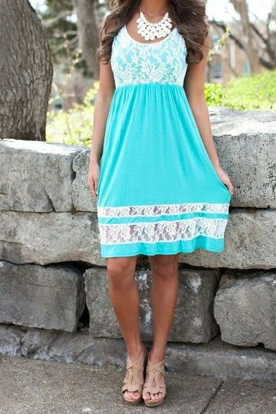 Blue Lace Dress by LoveNanaEmbroidery on Etsy