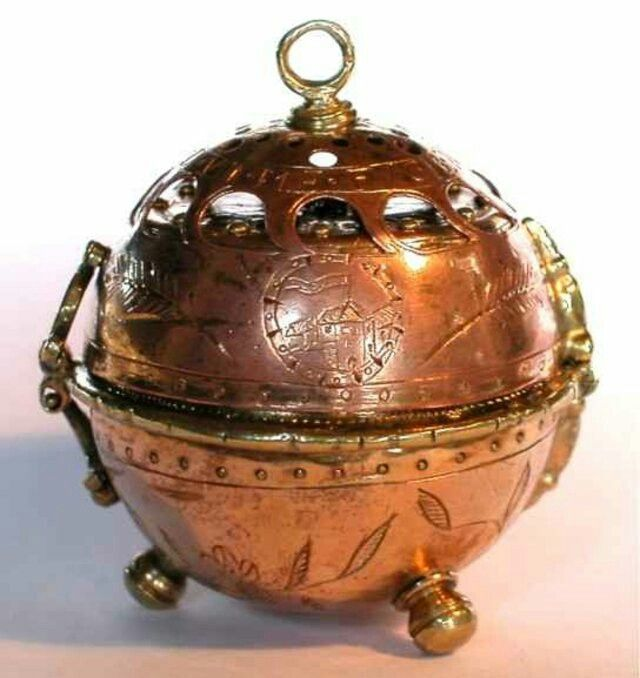 """Called """"The Pomander Watch,"""" created by Peter Henlein in the year 1505. This is the first pocket watch ever made."""