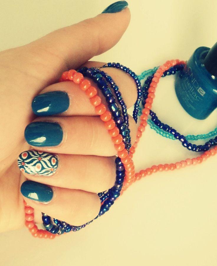 blue rapture bleu bleu jeans nails nail ongles art. Black Bedroom Furniture Sets. Home Design Ideas